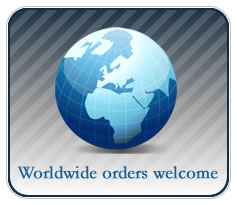 Worldwide Orders Welcome